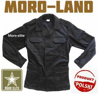 aee953a18b255 Bluza Wojskowa Policyjna Czarna Nowa 176 110 - 4648862396 ...