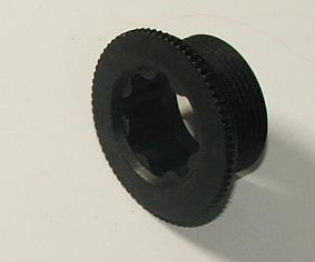 Śruba korby lewej HOLLOWTECH II plastik