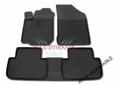 Gumowe dywaniki samochodowe Citroen C5 od 08r +Osł