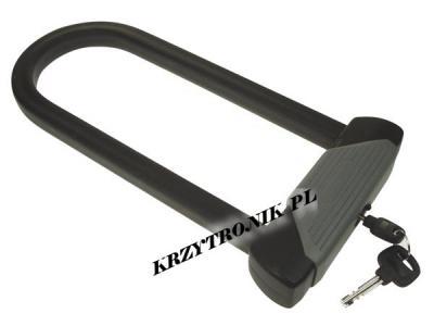 U-LOCK U-SHACKLE KEY LOCK ZAPIECIE ROWERU 16mm