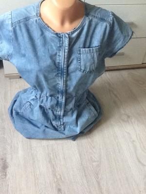 6321dc08e6 niespotykana dzinsowa sukienka MEGI rozm.XL - 6879407883 - oficjalne ...