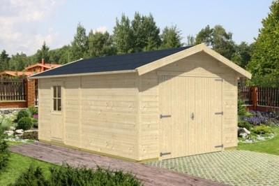 Garaż Z Drewna Carport 20 M2 Garaże Drewniane 6731899255