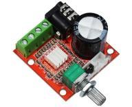 Mini wzmacniacz audio 2x10W PAM8610 potencjometr