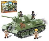Klocki Mała Armia CZOŁG T-34 RUDY + PANCERNI COBI