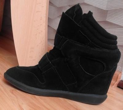a36370db76668 Buty na koturnie Diverse Bonnie Botki Sneakersy - 6764106731 ...