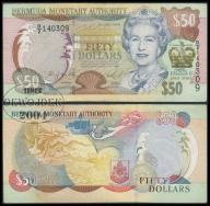 MAX - BERMUDY 50 Dollars 2003 r # OKOLICZNOŚĆ # VF