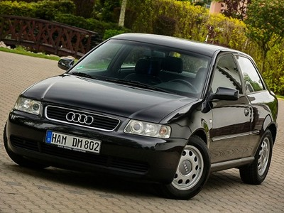 Audi A3 16 Benzyna 102ps 2001r Alu Climatr Czarna 6822213032
