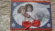 Kartka świąteczna ręcznie wykonana