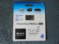 SONY Memory Stick Pro Duo 4GB Mark2 ORYGINALNA!