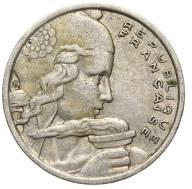 Francja - moneta - 100 Franków 1958 B - 2 - RZADKA