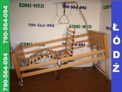 łóżko Dla Chorego Sterowane Pilotem Na Pilota