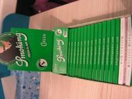 Bibulki SMOKING GREEN krotkie 60szt X 5SZT
