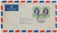 Cypr - ciekawa koperta z 1953 roku