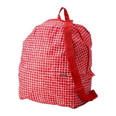 IKEA plecak plecaki KNALLA czerwony na wycieczkę