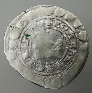 Jan Luksemburski grosz praski 1310-1346r.