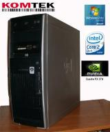HP XW4600/E8400/NVIDIA Quadro/2GB DDR2/250GB HDD