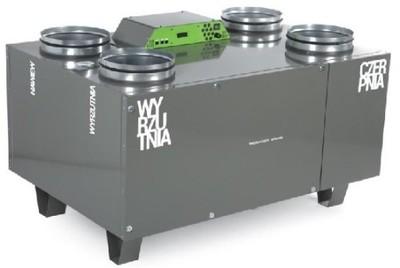 OXY Rekuperator Thesla AirPack 650v montaż projekt