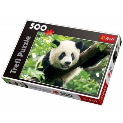 Trefl 500 elementów, Panda