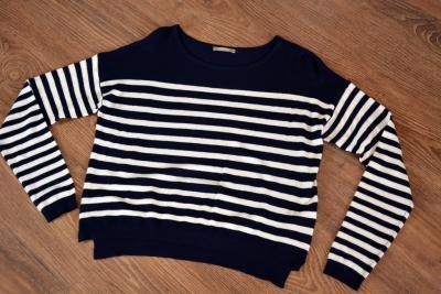ORSAY sweter w paski śliczny r. 36 38 S/M nowy