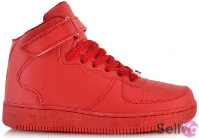 nike air force 1 mid czerwone allegro