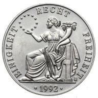 Niemcy - moneta - 1 Ecu 1992 - 4