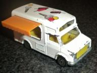 MAJORETTE FOURGON No 259 - ICE CREAM TRUCK