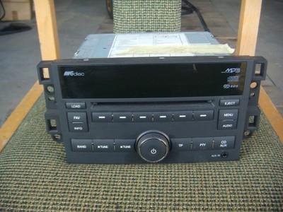 Chevrolet Epica Aveo Captiva radio mp3 6Cd