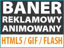 BANER REKLAMOWY ANIMOWANY HTML5 / FLASH / GIF _24H