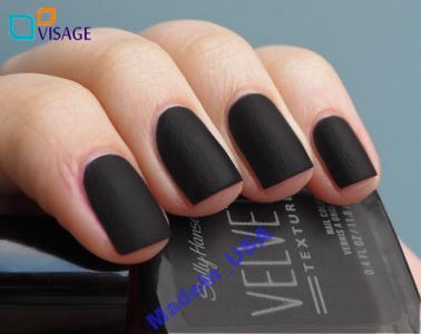 Sally Hansen Velvet Texture Velveten Matowy Czarny 5907370420