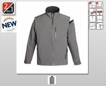 a053d681ee2 Nowy Softshell Coverguard 2w1 bluza/kamizelka XL - 5295167386 ...