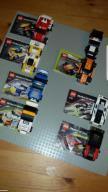 Lego Racers 8130,8131,8120,8121,inne 8 sztuk