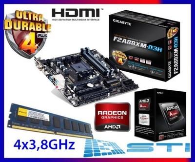 AMD APU A7650K 4x3,8GHz Gigabyte USB3.1/SATA3 R7