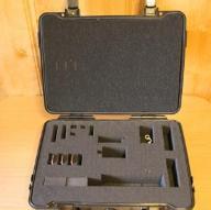 B&W outdoor cases T40 (SI) + Szelki GoPro