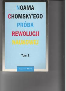 Noama Chomsky`ego Próba rewolucji naukowej tom 2