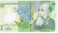 Rumunia 1 leu 2005, unc