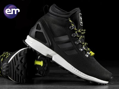 buty męskie adidas zx flux winter s82933 zimowe