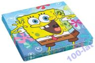Serwetki papierowe SpongeBob 20 szt. 33x33 cm
