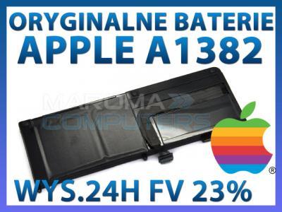 ORYGINALNA BATERIA APPLE MacBook Pro 15' A1382 FV!