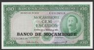 Mozambik - 100 escudos - 1961 - stan bankowy UNC