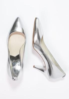 a4260f6ee05c5 MICHAEL Kors FLEX metallic silver szpilki srebrne - 6657940293 ...