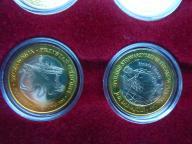 Flisacy na Dunajcu -  komplet 2 monet!!!