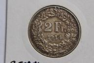 2 FRANK 1944 SZWAJCARIA SREBRO  - NUM7589