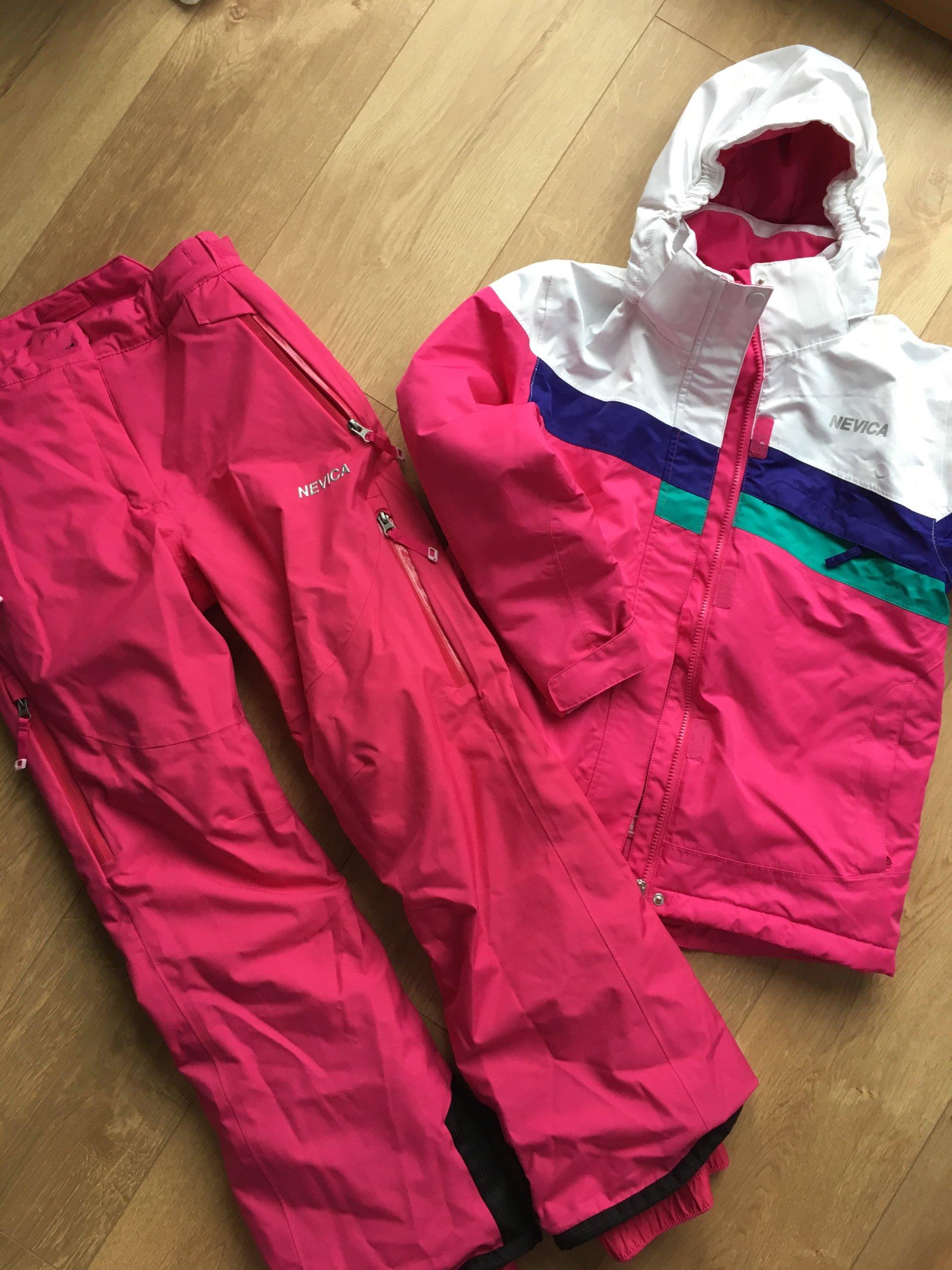 Kurtka, spodnie narciarskie 146 152 roxy, nevica