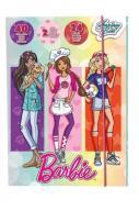 Szkicownik Kolorowanka naklejki Barbie Kariera