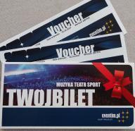 Voucher 200zł Eventim bilet koncert