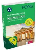 Last Minute audio. Niemieckie rozmówki PONS