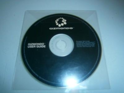 oryginalna płyta z oprogramowaniem do GIZMONDO