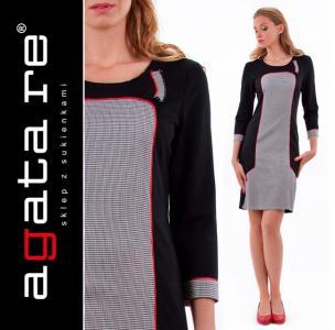 66c9949fc8 Sukienka ołówkowa do pracy rozmiar 44   XXL - 4677585199 - oficjalne ...