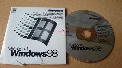 Windows 98 CD - 6573048891 - oficjalne archiwum allegro