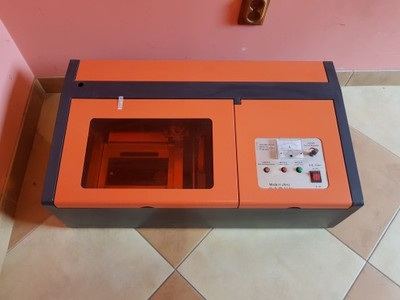 Ploter laserowy - licytacja od złotówki :-)
